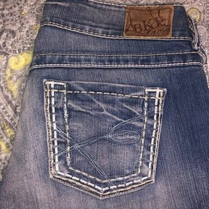 BKE jeans. Don't fit me. Worn. Good condition.